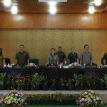 DPRD Tomohon Gelar Paripurna Mendengarkan Tanggapan Walikota Terhadapa Pemandangan Umum Fraksi
