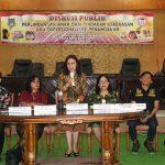DPRD Bersama LPA Kota Tomohon Gelar Diskusi Publik, Wenur Narasumber