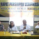 Target Raih Swasti Saba Wistara II, Tomohon Gelar Rapat Persiapan Verifikasi Kota Sehat