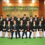 20 Anggota DPRD Tomohon 2019-2024 Diresmikan, Christo Eman Ketua DPRD Sementara