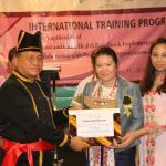 Lolowang Hadiri Closing Ceremony International Training Program