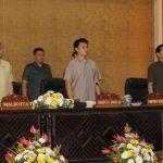 Walikota Eman Hadiri Paripurna Pengumuman Dan Penetapan Calon Pimpinan Definitif DPRD Kota Tomohon