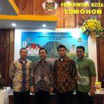 Ketua Sementara DPRD Tomohon Christo Eman, Hadiri Sulut Expo 2019 Di Jakarta