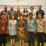 Inspektur Max Mentu Dan Kabag Humas & Protokol John Kapoh, Hadiri Rakorwasdanas 2019