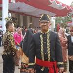 Hukum Tua Desa Leilem Utusan Sulawesi Utara ke Istana Negara