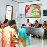 Rapat Perdana KONI Dengan Dispora Sangihe Dalam Rangka Persiapan Porprov 2019