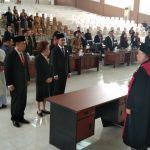 Sah,,, Tiga Pimpinan DPRD Minsel Resmi Diambil Sumpah/Janji Jabatan