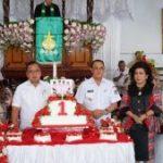 Satu Tahun Kepemimpinan ROR-RD Dirayakan Sederhana Dalam Ibadah Syukur