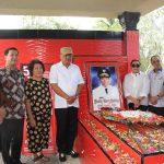 Bupati ROR Dampingi OD-SK Ziarah di Makam Sualang di Leilem kecamatan Sonder
