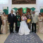 Walikota Eman, Jadi Saksi Pernikahan Alan – Christin