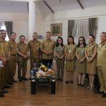 Walikota JFE Terima Kunjungan Inspektorat Provinsi Sulut