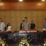 Walikota Eman Hadiri Paripurna DPRD Penetapan Pimpinan Dan Keanggotaan Fraksi, 3 Fraksi Terbentuk