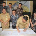 Pemkot Tomohon, KPU Dan Bawaslu Tandatangani Naskah Perjanjian Hibah Daerah