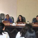 Komisi III DPRD Tomohon, Tatap Muka Dengan Mitra Kerja