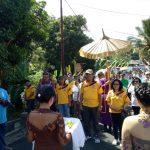 Gaghana Apresiasi Sambutan Adat Warga Kecamatan Kendahe