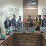 Kojongian Pimpin Komisi I DPRD Tomohon Kunker Ke DPRD Kota Depok.