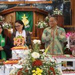 Sekkot Lolowang Hadiri HUT Ke 141 Jemaat GMIM Bukit Zaitun Kumelembuai