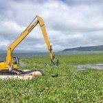 Pemkab Minahasa Serius  tangani Eceng Gondok di Danau Tondano