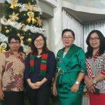 Wawali SAS Hadiri Ibadah Pra Natal Dinas Dikbud Kota Tomohon