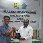 Wamen PUPR Apresiasi Kinerja Gaghana Membangun Daerah Sangihe