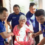 Peduli Dengan Kesehatan Masyarakat, Ketua Karang Taruna Tomohon JGE Diapresiasi Warga Kumelembuai