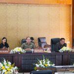 Wawali SAS Hadiri Paripurna Penetapan Ranperda Tatib DPRD Kota Tomohon