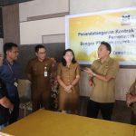 Pemkot Tomohon Dan PT Telkom Indonesia Witel Sulut-Malut, Tandatangani Kontrak Kerjasama Tahun 2020