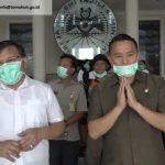 Pemkot Tomohon Bersama Sinode GMIM Kompak Cegah Penyebaran Virus Corona