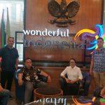 Wabub RD Kunker ke Kementerian Pariwisata dan Ekonomi Kreatif (Kemenparekraf)  (RI), di Jakarta