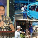 Walikota JFE Instruksikan Penyemprotan Disinfektan Di Kelurahan Se Kota Tomohon Dan Angkot