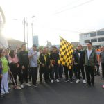 Pembukaan Rangkaian Kegiatan HUT Ke 17 Kota Tomohon, Pemkot Gelar Jalan Sehat Bersama