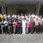 Peringatan HUT Ke-17 Kota Tomohon, Sekkot Lolowang Hadiri Upacara Di Kecamatan Tomohon Tengah