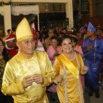 Walikota JFE dan Wawali SAS Hadiri Pesta Adat Tulude Kota Tomohon 2020
