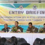Entry Briefing BPK-RI Di Tomohon,