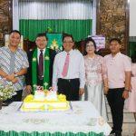 Walikota JFE Hadiri Ibadah Kawin Perak Keluarga Tangel-Tombeg