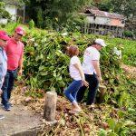 BM-OD Se Sulut Angkat Eceng Gondok di Danau Tondano