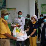 Pemkab Sangihe SalurkanBapok Ke Pekerja Informal Terdampak Covid-19
