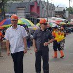 Cegah Penyebaran Covid-19, Jam Operasional Pasar Beriman Wilken Di Batasi Sampai Jam 1 Siang