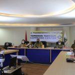 Terkait Pemeriksaan BPK, Walikota Tomohon Video Conference Dengan BPK Sulut