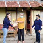 Rasa Peduli dan Keiklasan Keluarga Posumah-Tanioswas Bagi Sembako