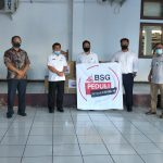 BSG Sulut Peduli Covid 19 Serahkan Bantuan 160 paket APD ke Tim Satgas Covid Pemda Minahasa