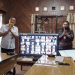 Lewat ViCon, Walikota JFE Saksikan Langsung Para Siswa SD SMP Buat APD Dalam Rangka Peringatan Hardiknas 2020 Di Kota Tomohon,