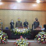 Wawali Sompotan Hadiri Paripurna DPRD Tutup Buka Masa Sidang