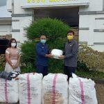 Ketua FPG Tomohon Christo Eman Sumbangkan 200 APD Di RSUD Anugerah Tomohon