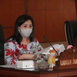 Ladys Turang Pimpin Rapat Pansus LKPJ 2019 Dengan Dinas Pangan Dan Dinas Pertanian & Perikanan Kota Tomohon