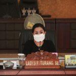 Ladys Turang Pimpin Rapat Pansus LKPJ Walikota Akhir Tahun 2019