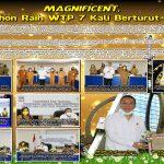 Magnificent, Tomohon Raih WTP Tujuh Kali Beturut-turut