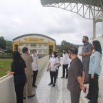 Pansus DPRD Tomohon Kunjungan Lapangan Di Stadion Babe Palar
