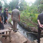 Pansus LKPJ Walikota Tomohon, Tinjau Pembangunan Rehabilitasi Irigasi Ranowangko
