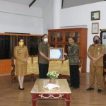 Walikota Tomohon Terima Penghargaan Level 3 APIP Dari BPKP Sulut